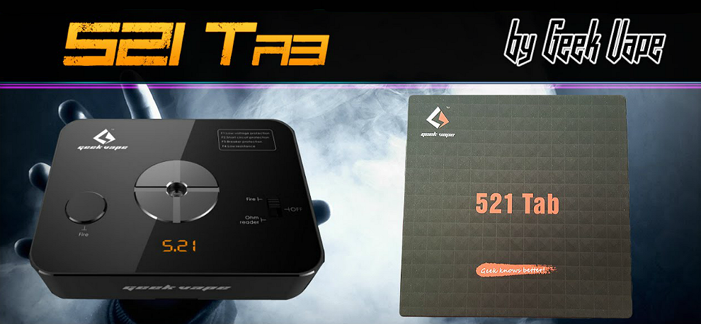Geek Vape 521 Tab Professional Ohm Meter