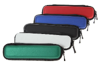 Thin Zipper Carry Case (Red) image 1