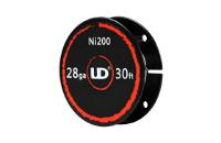 UD 28 Gauge Ni200 Wire (30ft / 9.15m) image 1