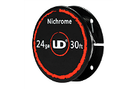 UD 24 Gauge Nichrome Wire (30ft / 9.15m) image 1