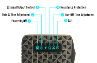 iBox 1500mAh Variable Voltage & Wattage Battery - Sub Ohm (Gold) image 4