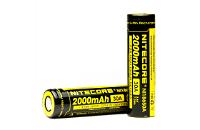 Nitecore IMR 18650 2000mAh 30A High Drain Battery (Flat Top) image 1