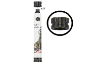 Nunchaku V2 2000mAh Variable Wattage Battery (Graffiti) image 4