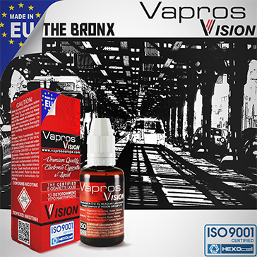 The Bronx -9mg- ( 30ml - Medium Nicotine )