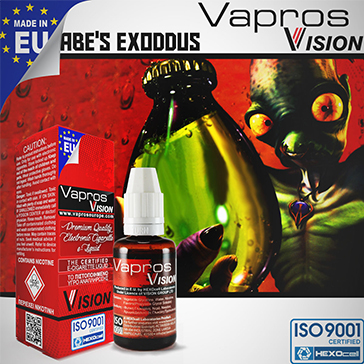 Abe's Exoddus -0mg- ( 30ml - No Nicotine )