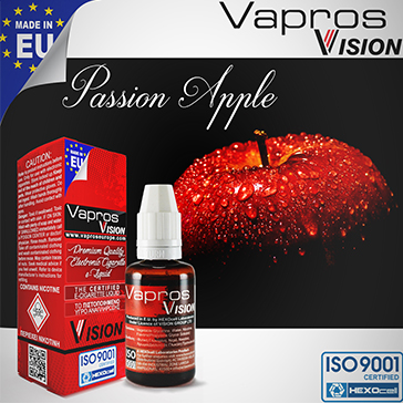 Passion Apple -0mg- ( 30ml - No Nicotine )