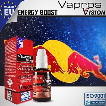Energy Boost -9mg- ( 30ml - Medium Nicotine )