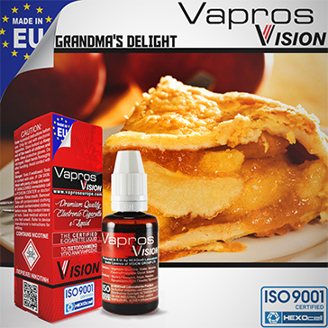 Grandma's Delight -9mg- ( 30ml - Medium Nicotine )