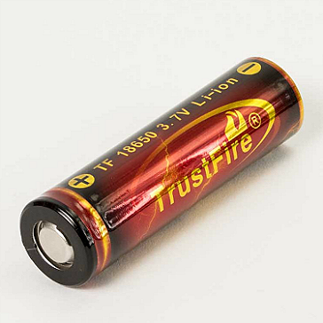 Trustfire 18650 3000mAh Battery (Flat Top)
