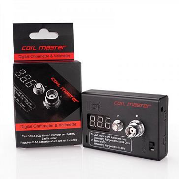 Coil Master Digital Ohmmeter & Voltmeter