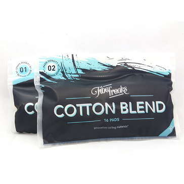 Fiber Freaks Cotton Blend Wickpads (XL Pack)