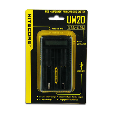 Nitecore UM20 External Battery Charger
