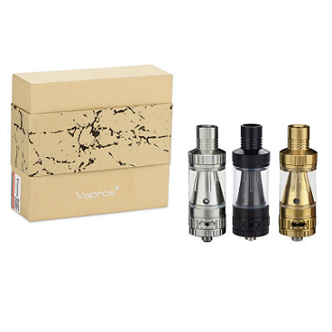 KinTa Ceramic Coil Atomizer with RBA Kit (Gold)