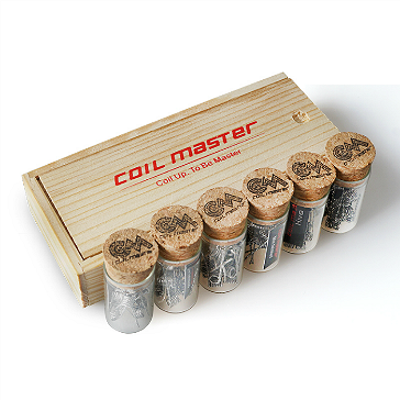 60x Coil Master 0.36Ω Pre-Built Flat Twisted Kanthal Coils