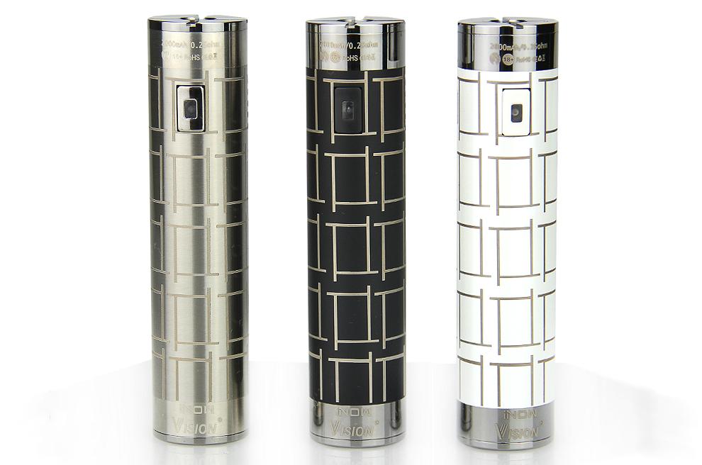 iNOW Sub Ohm 2000mAh Battery (Stainless)