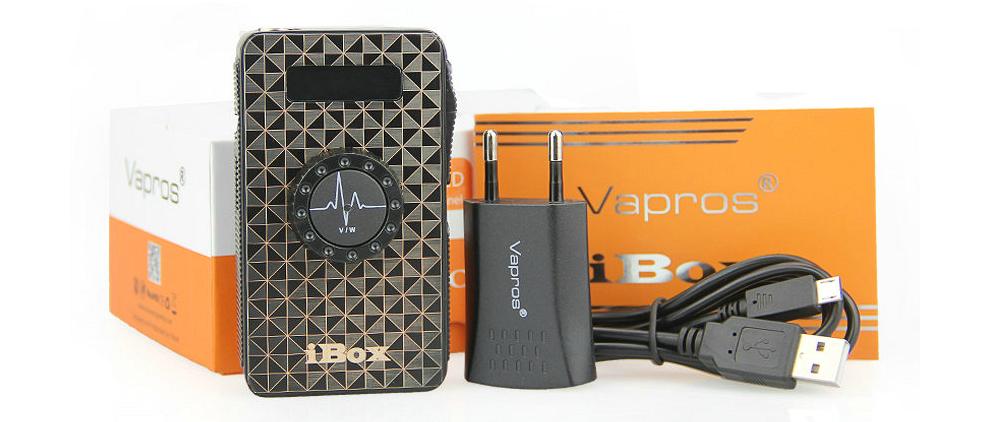 iBox 1500mAh Variable Voltage & Wattage Battery - Sub Ohm (Black)