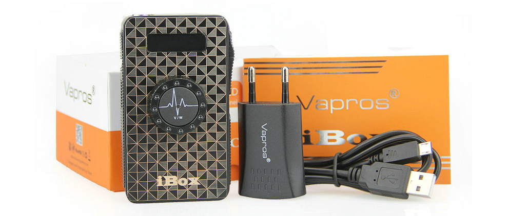 iBox 1500mAh Variable Voltage & Wattage Battery - Sub Ohm (Stainless)
