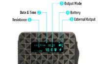 iBox 1500mAh Variable Voltage & Wattage Battery - Sub Ohm (Gold) image 5