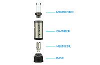 V-Spot VDC Atomizer (Stainless) image 4