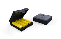 Chubby Gorilla Quad/Four 18650 Battery Case ( Black ) image 1