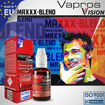 Maxxx Blend -9mg- ( 30ml - Medium Nicotine )