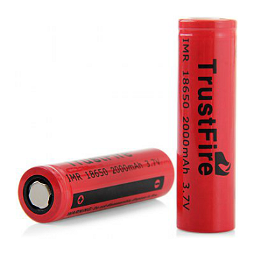 Trustfire 18650 2000mAh Battery (Flat Top)