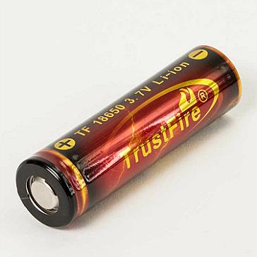 Trustfire 18650 3000mAh Battery (Flat Top)