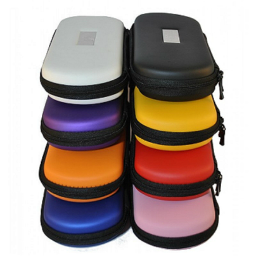 Medium Size Zipper Carry Case (Red)