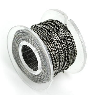 30 Gauge Twisted Kanthal A1 Wire - 3.3ft / 1m