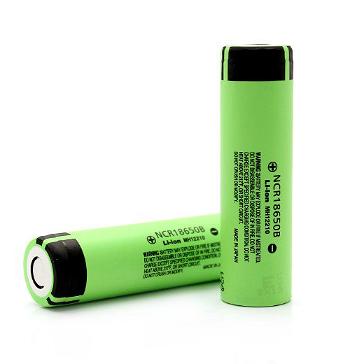 Panasonic NCR18650B 12A Battery (Flat Top)