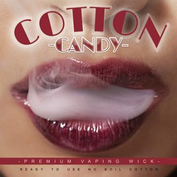 Cotton Candy Premium Wickpads